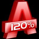 иконка программы Alcohol 120%